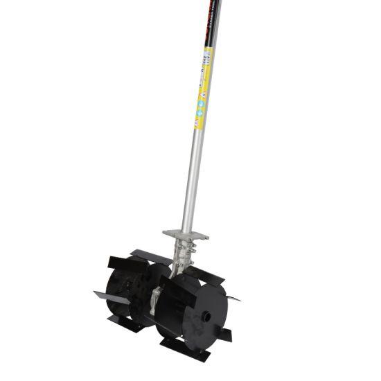"Насадка Культиватор ""Тяпка"" Ø28 мм, 9 шлицов для бензотриммера"